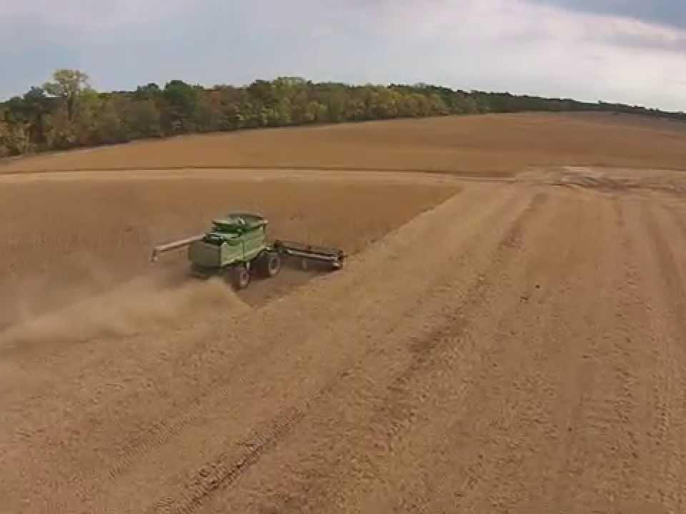 Oerke Soybean Harvest 2014