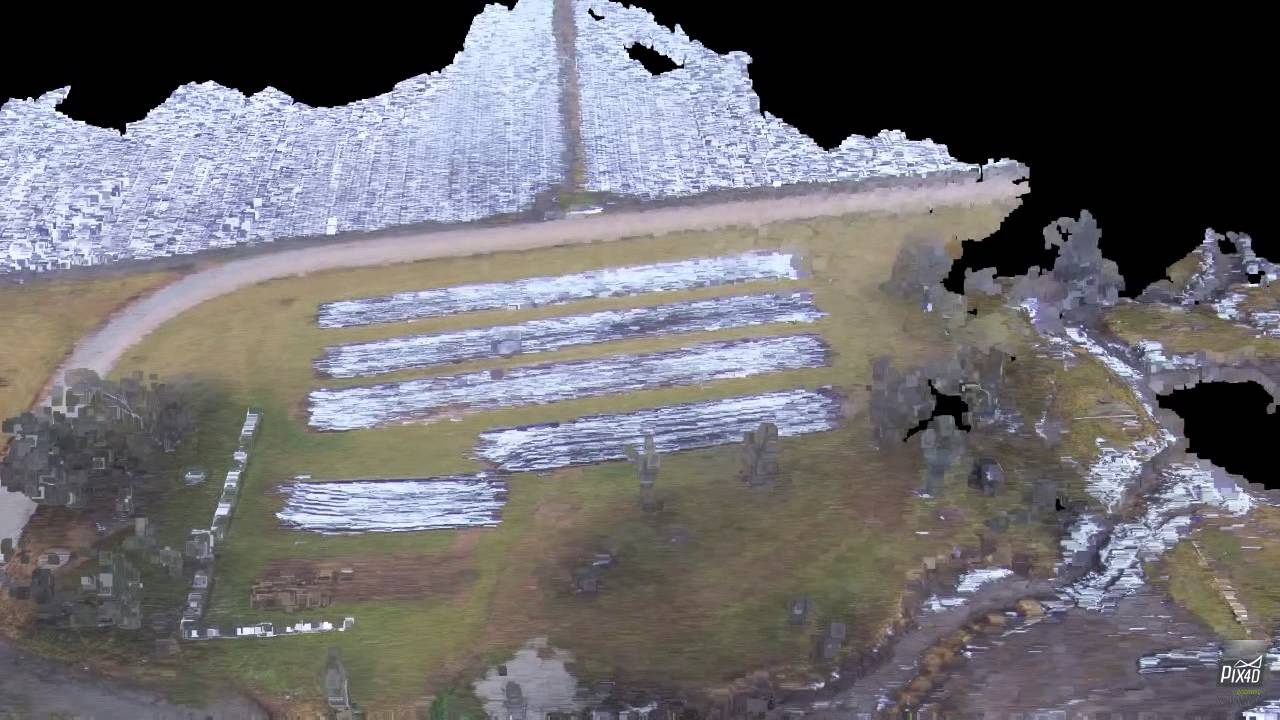 Testing New Mapping Software with UAV